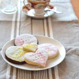 Fondant Wedding Cookies 1