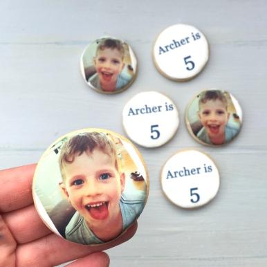 Birthday Printed Cookies Archer 5