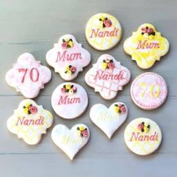 70th cookies